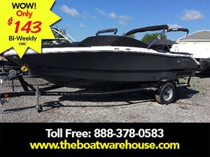 Four Winns H200 Volvo V6-200HP Trailer Bimini Top 2017