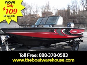 Lowe Boats FS 1610 Merc 115HP Trailer Fish Finder Stereo 2017