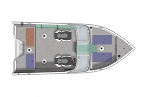 Crestliner 1650 Fish Hawk WT 2017