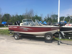 Crestliner 1650 Fish Hawk WT 2012