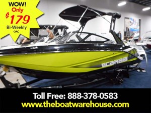 Scarab 195 HO Impulse BRP 250HO Rotax wakeboard tower ... 2017