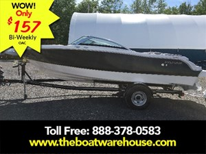 Four Winns H190 Volvo Penta 200HP Tower Trailer Ext Platform 2018