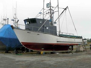 Longline Commercial Fish Boat - Permit Package 1979