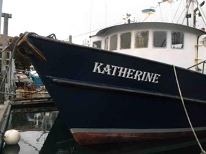 Commercial Fishing Boat with Permits 1978