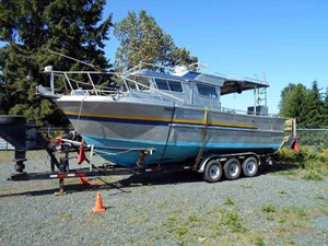 Aluminum Boat - Sport Fisher 1986
