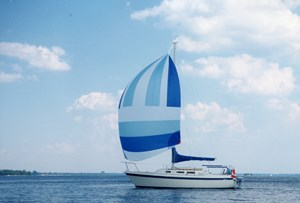 O'Day 25 Foot Sailboat 1982