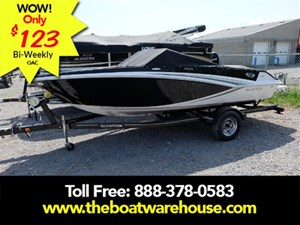 Glastron GT 185 Mercruiser 200hp Extended Swim Plat Trailer 2018