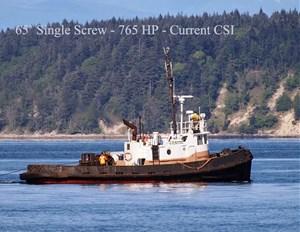 1964 Coastal Tug Single Screw Tug