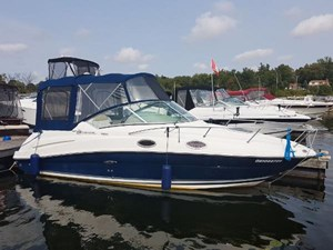 Sea Ray 240 Sundancer with trailer 2008