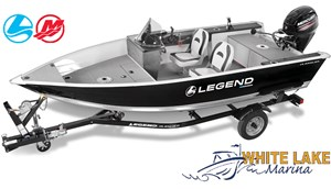 Legend 15 Angler package w/Merc 25 ELPT & Trailer 2018