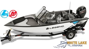 Legend X16 package w/Merc 40 ELPT & Trailer 2018