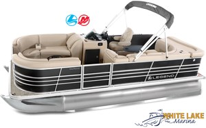 Legend Bayshore Cruise Pontoon w/25 ELPT 2018