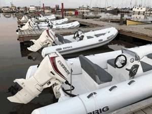 Brig F420HT Rigid Inflatable Side Console 2017