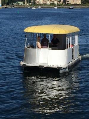 Factory Built trimarran poontoon ferry 2012