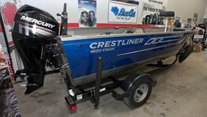 Crestliner 1600 Vision Tiller 2018