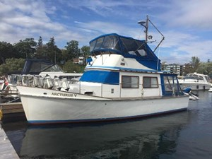 Cheoy Lee 35 Sedan Trawler 1980