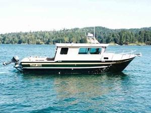 Silver Streak Cabin Cruiser 2001