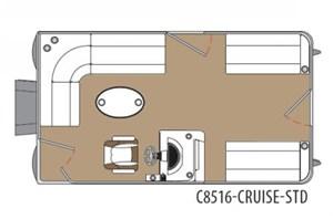 Montego Bay Standard Cruising 8516 2017