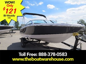 Four Winns H180 Mercruiser 4.5L 200HP Trailer Bimini top E... 2018