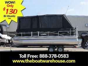 Lowe Boats SS210 Mercury 115HP Trailer Full Enclosure Tri-... 2017