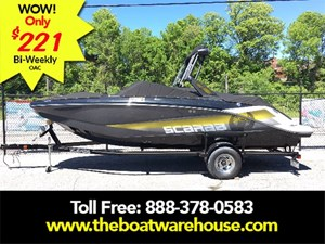 Scarab 215 Impulse Wake Twin 200HP Rotax Trailer Wake ... 2018