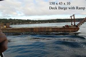 1955 Deck Barge Ramp