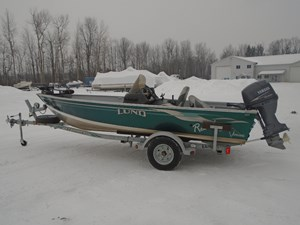 Lund 1650 Rebel SS Side Console For Sale 2004