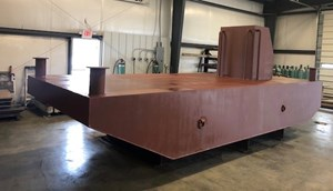 20' x 8 x 3 Steel Barge/Push Boat New Build 2018
