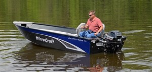 MirroCraft Outfitter Tiller 165T-O - Red 2018