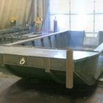 20' X 8' Steel Work Boat 2018