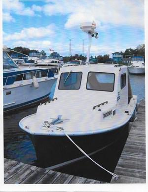 Sisu Lobster Boat 1986