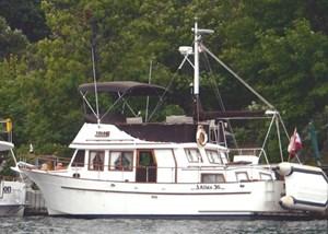 Albin 36 Double Cabin Trawler 1980
