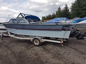 Sylvan 21 Foot Fishing Boat 1987