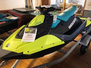 Sea-Doo SPARK 3UP IBR & CONVENIENCE PACKAGE 900 HO ACE 2018