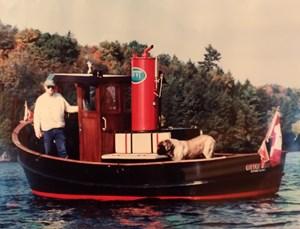 Port Dover Boat Works Tug Boat 1993
