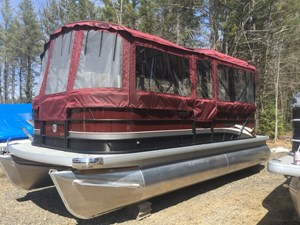 Sweetwater 2018 SWEETWATER 2186C PONTOON -- Black Cherry and  2018