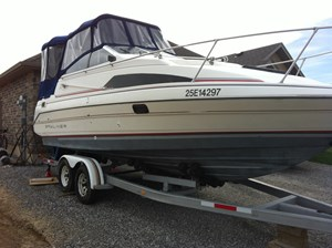 bayliner sunbridge 265 1990