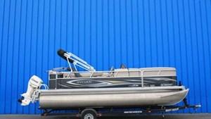 Sylvan 20 pieds  90 hp evinrude 2013