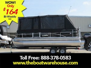 Lowe SS210 Mercury 150HP Trailer Full Enclosure Tri-... 2018