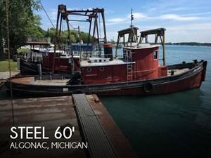 1913 Steel Riveted Steel Tug