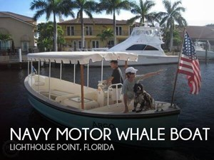 Navy Motor Whale boat 1966