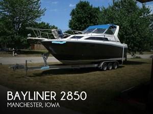 1986 Bayliner Contessa 2850