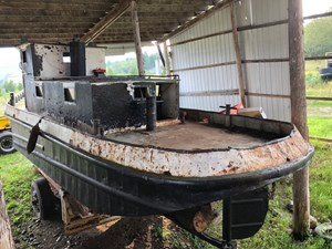 PROJECT BOAT 38' RUSSEL BROS TUG 1950