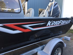 KingFisher 1825 Warrior Sport w/Yamaha F150 & EZ Loader Galv  2019