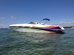 Black Thunder Powerboats SC43 2001