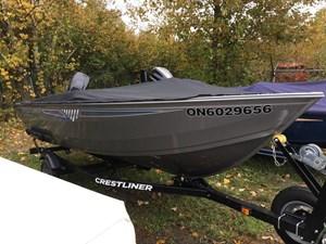 Crestliner 1450 Discovery Tiller 2018