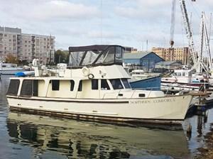 Custom Wray Brown 46 Europa Trawler 1988