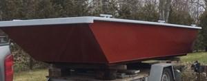 """2021 19' x 7'6 x 32"""" Steel Work Boat"""