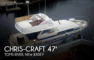 1970 Chris-Craft 47 Commander