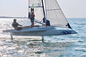 2019 Foiling World F101 Foiling Trimaran Photo 1